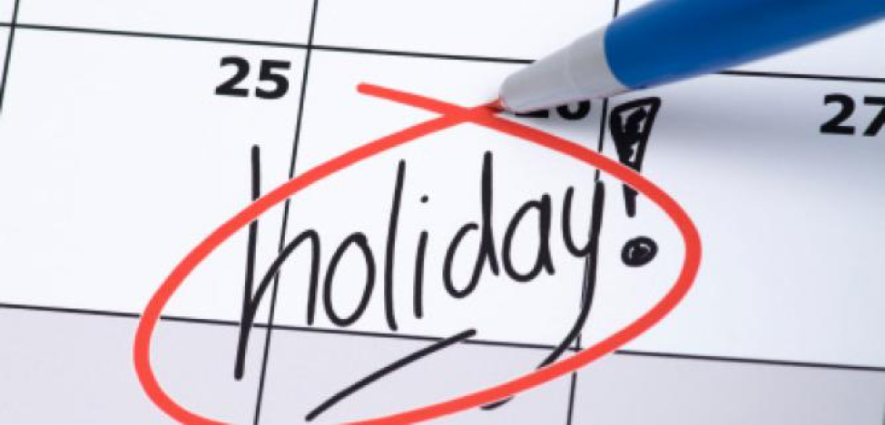 certain national holidays such as christmas and easter create a situation in which certain phrases acknowledge the holiday people become influenced by a - When Did Christmas Become A National Holiday